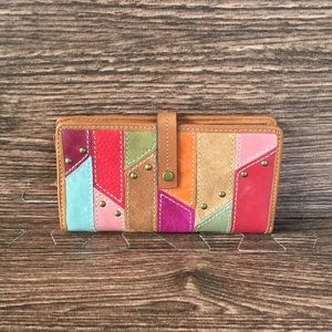 Fossil Multicolored leather Wallet